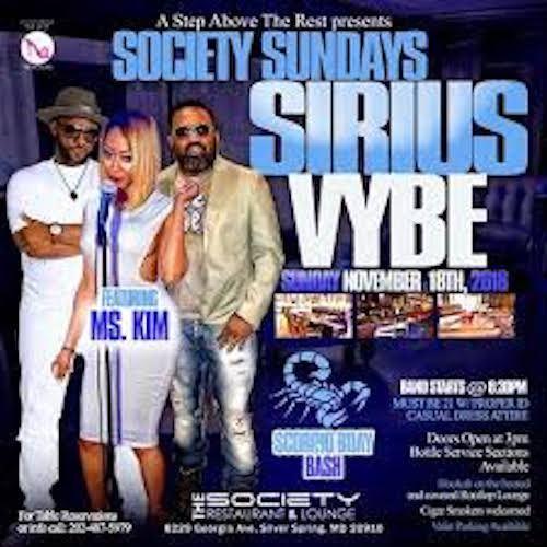Sept. 2018@Society Lounge~Scooby & Kim