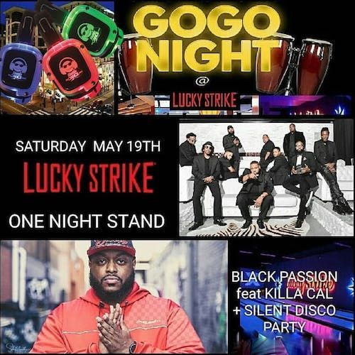 5-19-18 Black Passion @Lucky Strikes