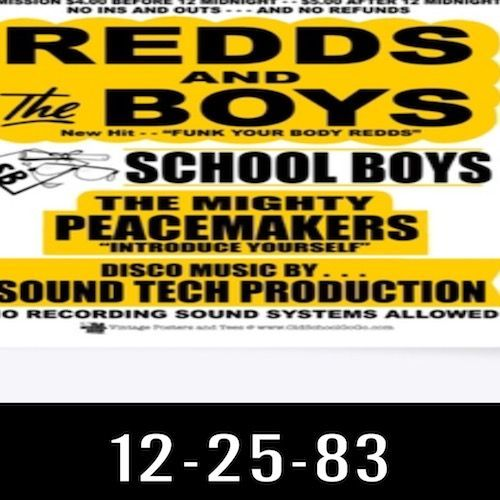 12-25-83 Redds & The Boys