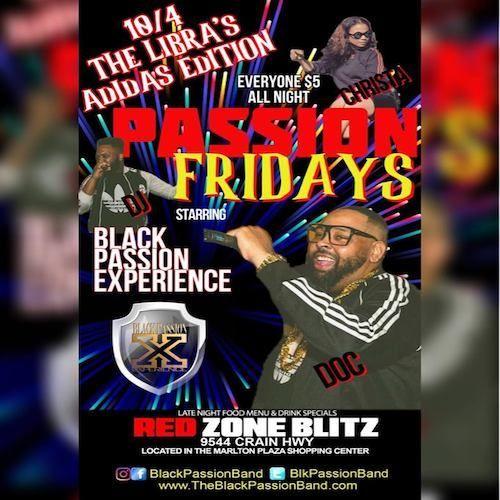 10-4-19 Black Passion@Red Blitz (Doc-Birthday)