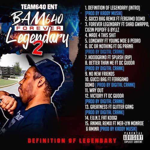 BAM 640~Forever Legendary 2~(2019)