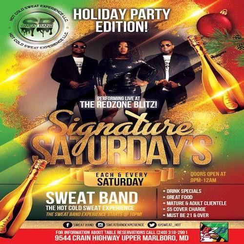 10-12-19 Sweat Band@Red Zone Blitz