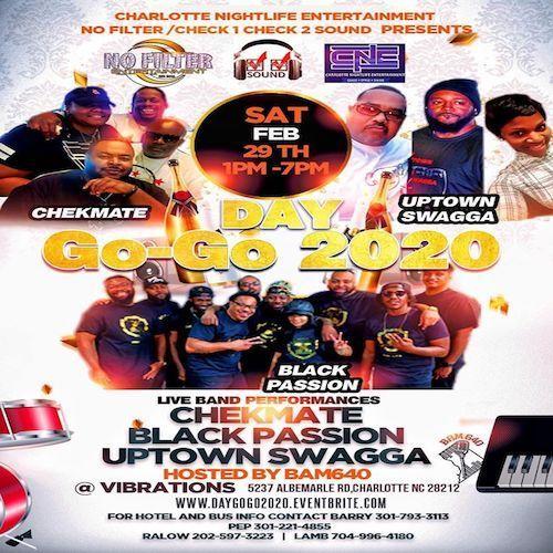 2-29-20 Black Passion@Vibratioms (CIAA Show)