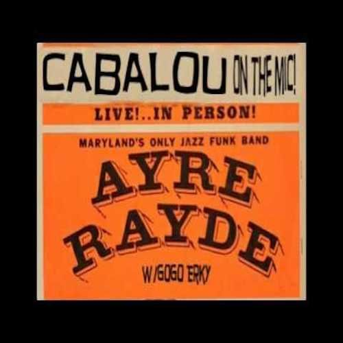 3-4-84 Ayre Rayde@Suitland High School w.Sugar Bear