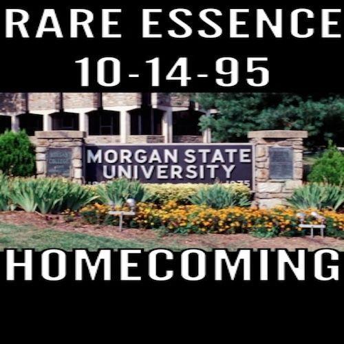10-14-95 Rare Essence@Morgan State University Homecoming