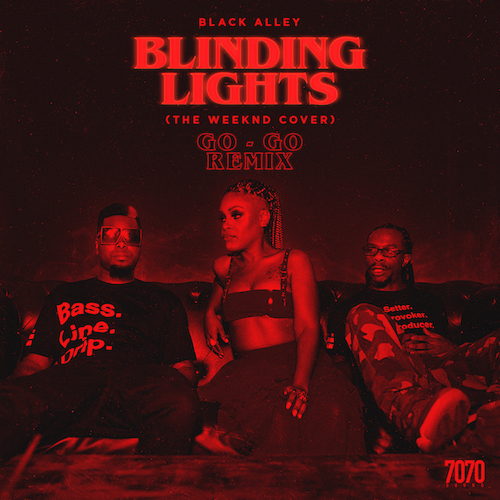 Black Alley~Blinding Lights~The Weekend Cover