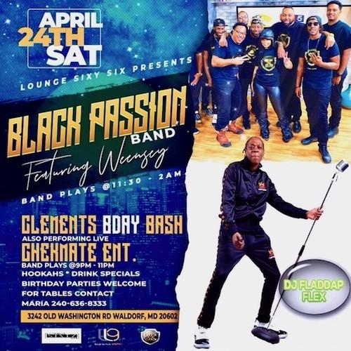 4-24-21 Black Passion@Lounge 66 w.Weensy