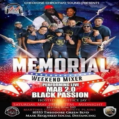 5-29-21 Black Passion@Martinis Lounge~White Plains