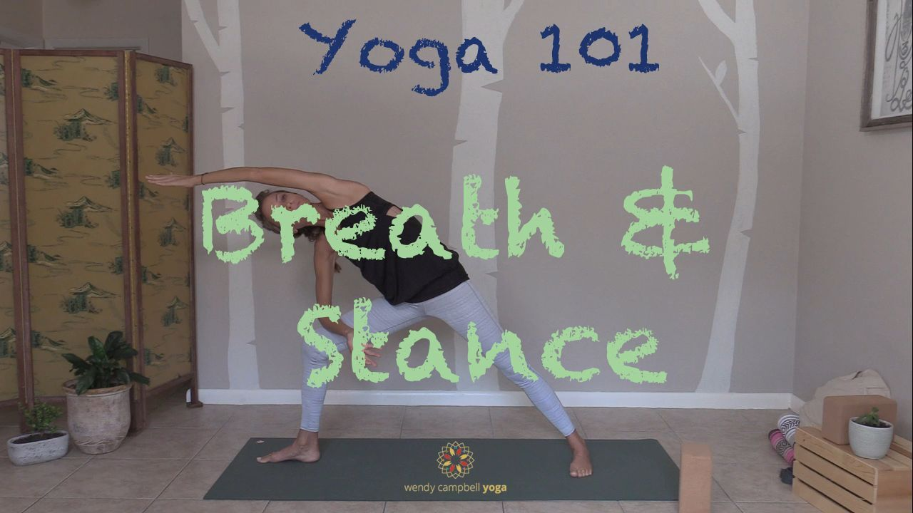 DROP-IN PRACTICE | YOGA 101 BREATH AND STANCE
