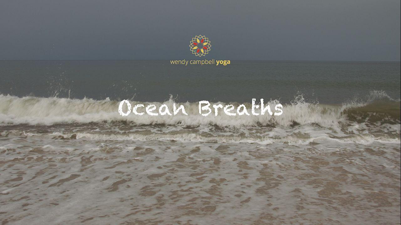 DROP-IN PRACTICE   OCEAN BREATHS