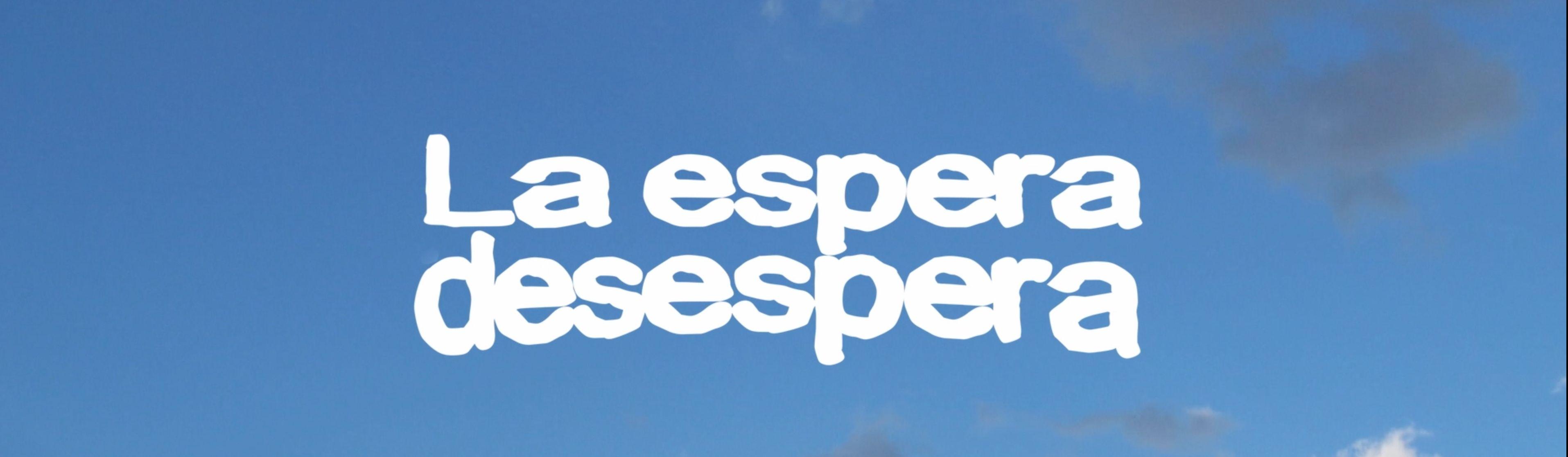 HOPEFUL HOPELESS  / LA ESPERA DESESPERA