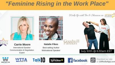 Feminine Rising in the Work Place
