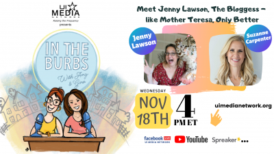 Meet Jenny Lawson, The Bloggess -  like Mother Teresa, Only Better