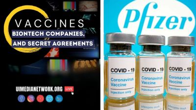 Vaccines, BioNTech, Companies, and Secret Agreements