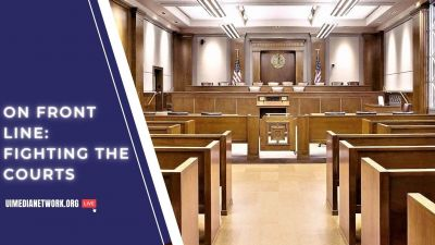 On Front Line: Fighting the Courts