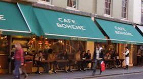 Cafe Boheme   Soho, London UK