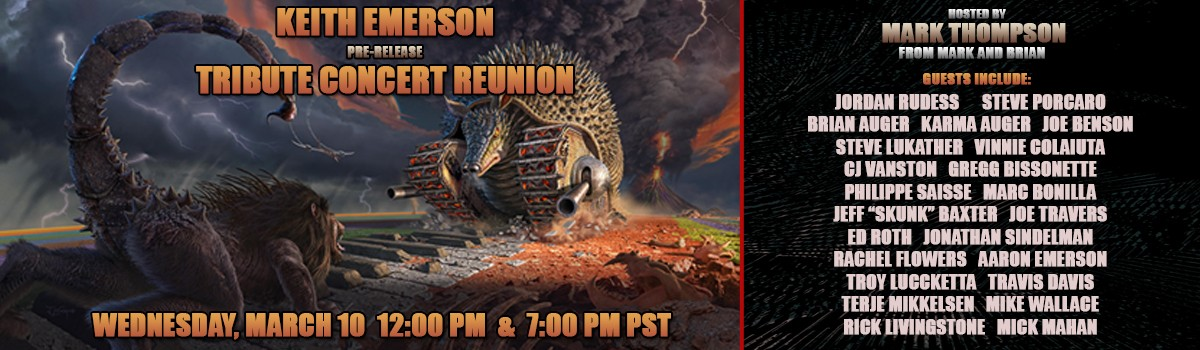 Keith Emerson Tribute Concert Reunion
